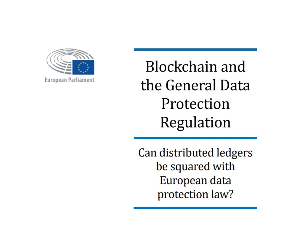 Blockchain Study about Blockchain by the European Parliament